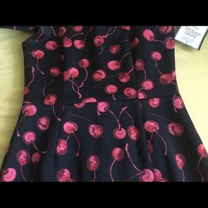 Betsey Johnson Dresses - Betsey Johnson Cherry Print Sheath Dress 6